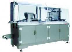 DPP250G Plate-Type ALU/PVC Blister Packaging Machine
