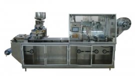 DPP250M Plate Style ALU/PVC-ALU/ALU Blister Packaging Machine